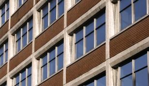 St Peters House windows