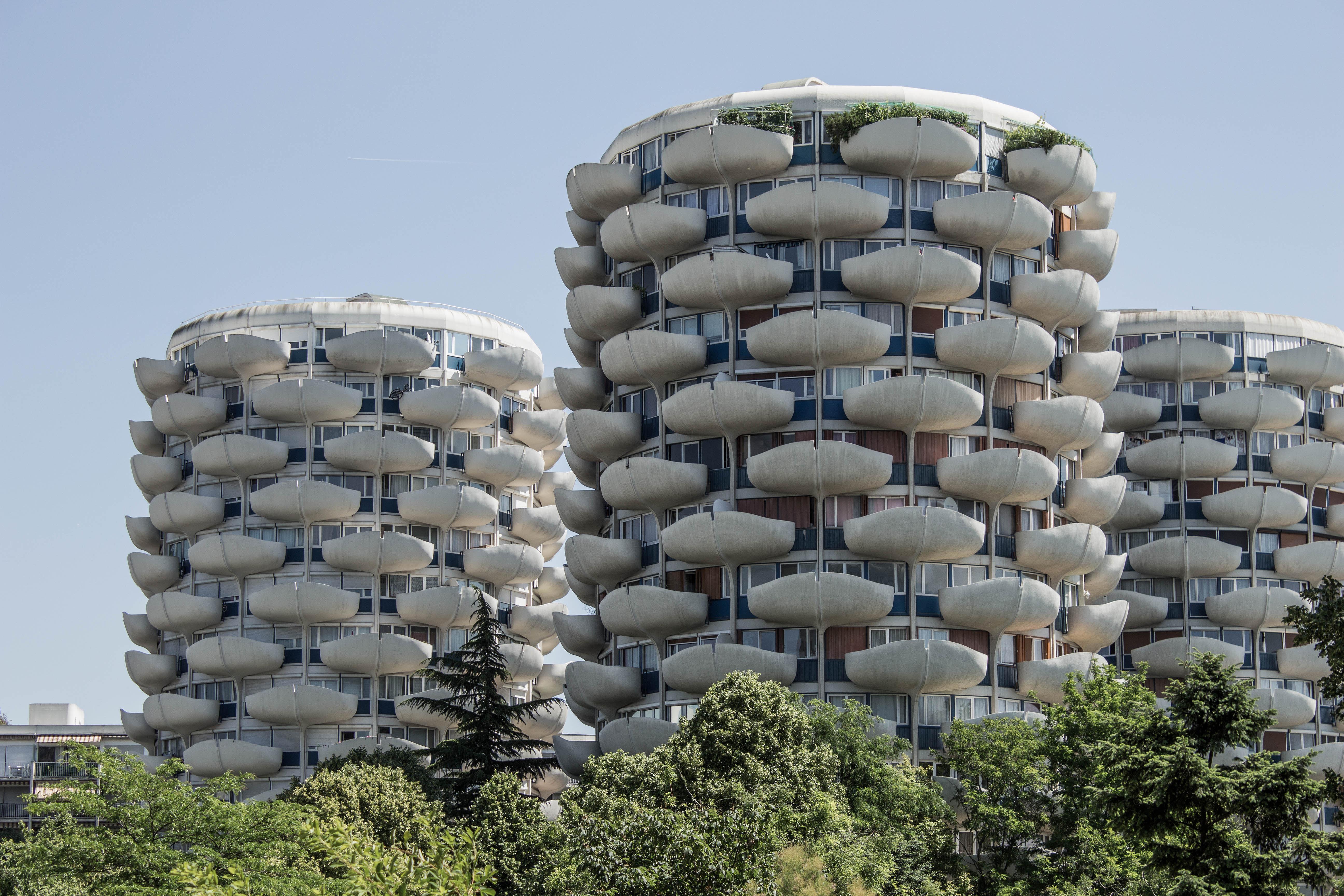 Les choux de cr teil paris brutalist constructions for Les architectures